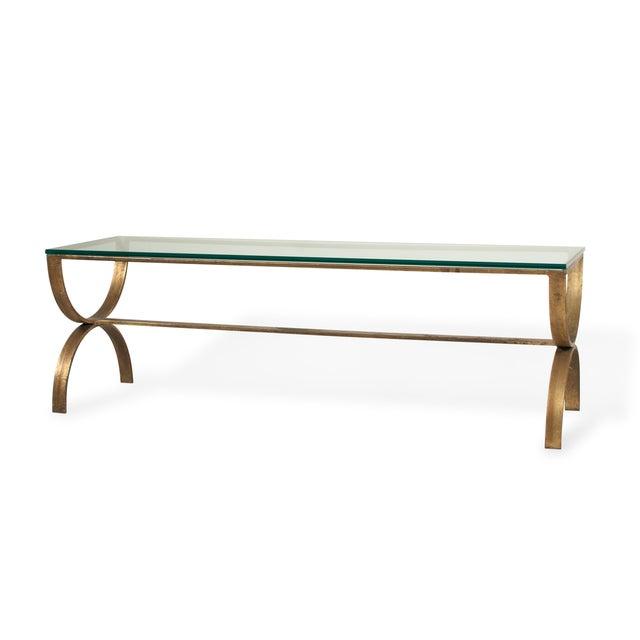 Gilt Steel Coffee Table - Image 2 of 6