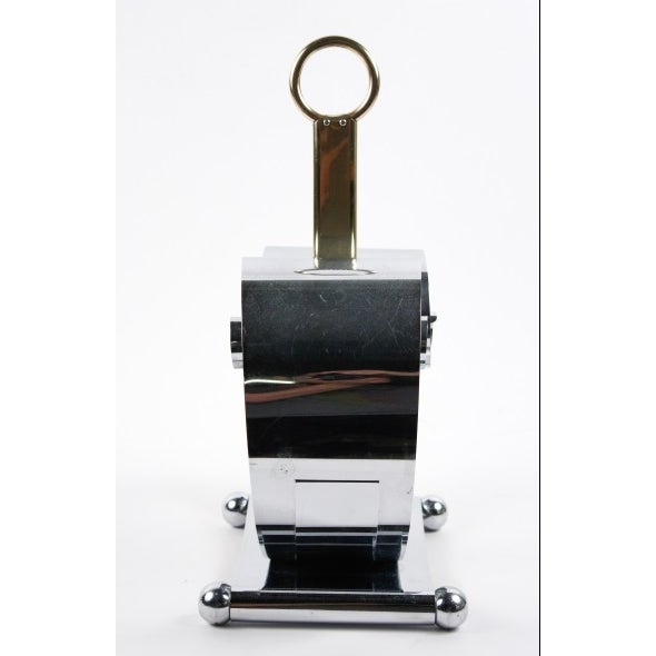 Fred Farr for Revere Modern Chrome Magazine Holder - Image 6 of 8
