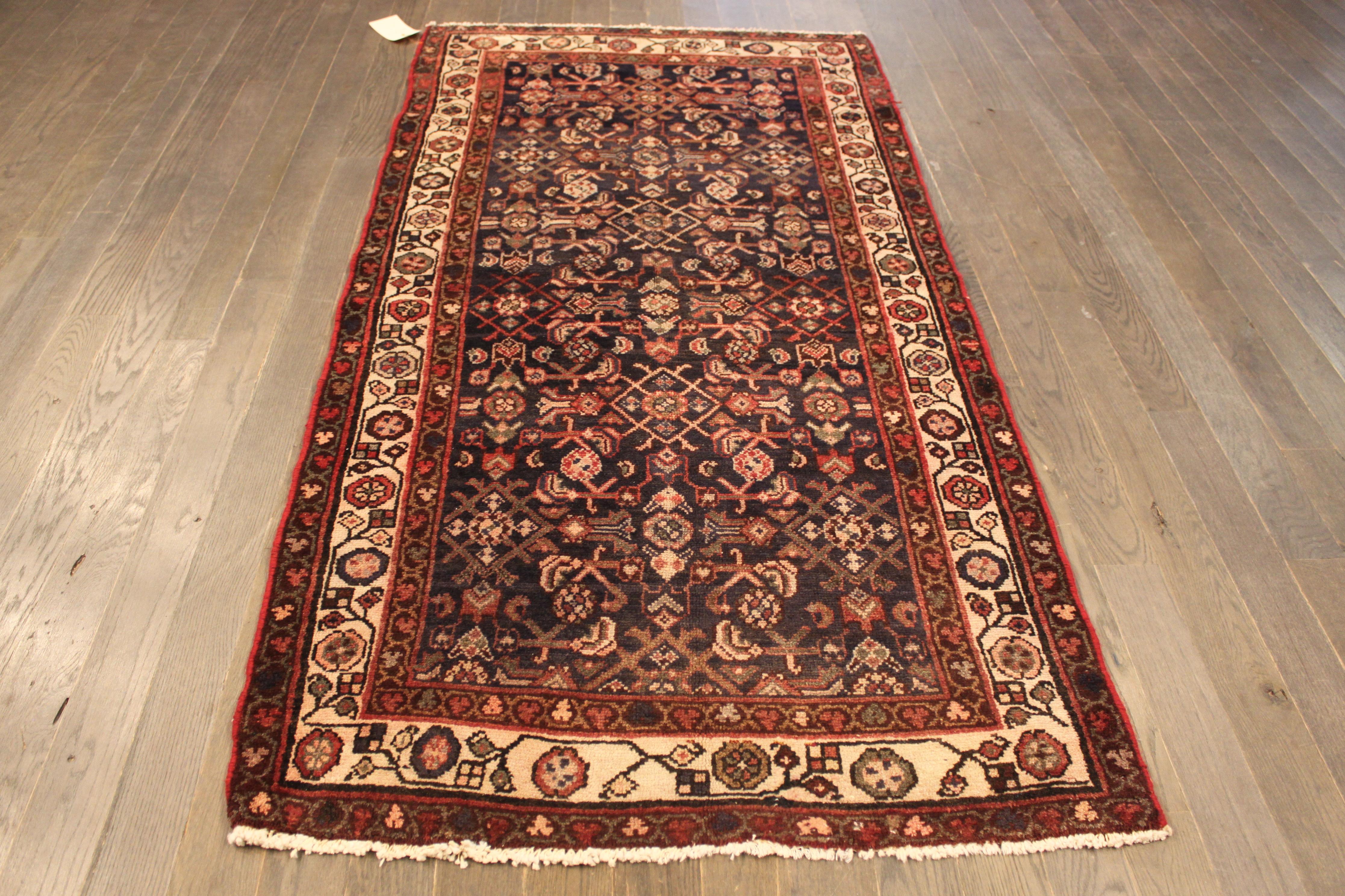 Vintage Persian Wool Rug 3 2 Quot X 6 5 Quot Chairish