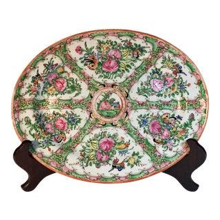 19th Century Chinese Rose Medallion Platter