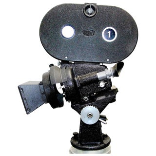 Arriflex 35MM Iconic Cinema 'Hollywood' Cinema Camera Circa 1940 As Sculpture