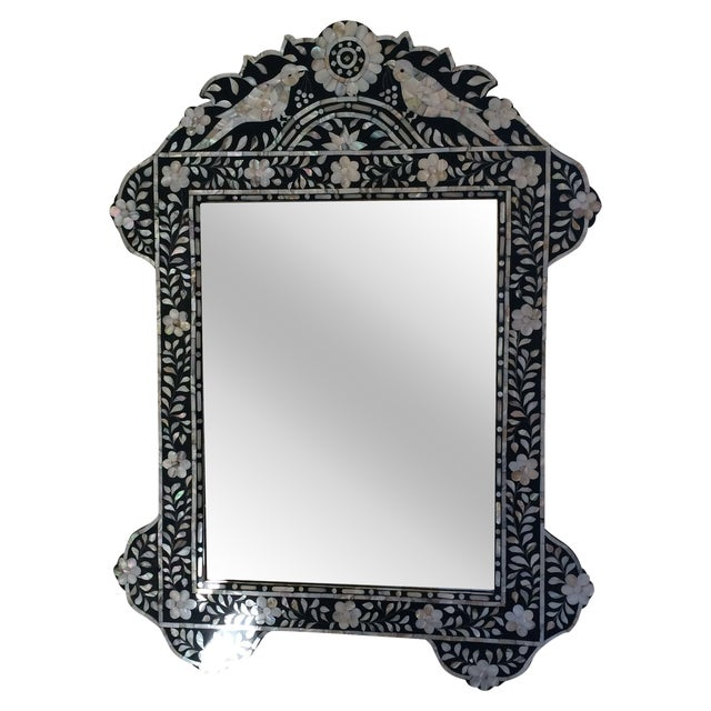 Mother of Pearl Inlay Mirror - Image 1 of 5