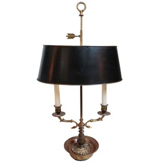 Early 20th-C. Bouillotte Lamp