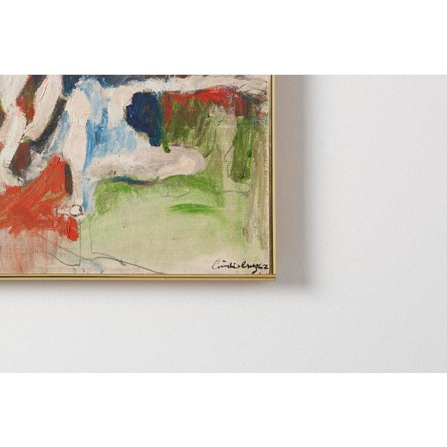"""Emilo Cruz, """"Figures in a Landscape"""" - Image 3 of 3"""