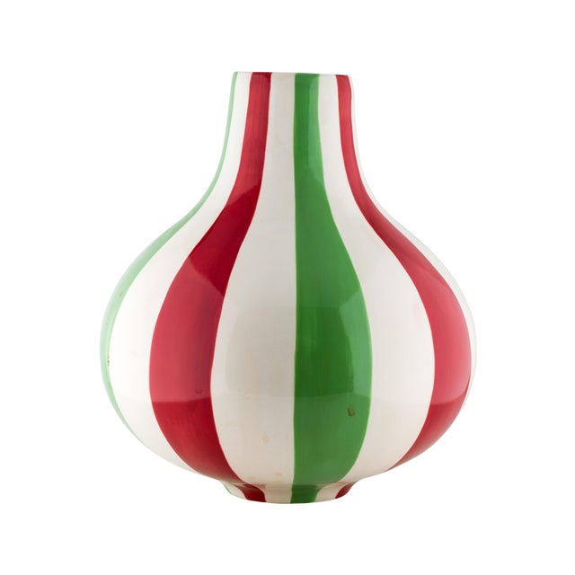 Jonathan Adler Striped Vase - Image 1 of 4