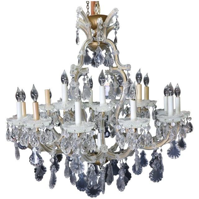 Image of Maria Theresa Italian Crystal Chandelier