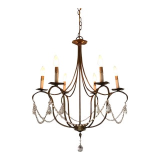 Curry & Company Crystal Lights Chandelier