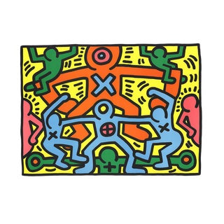 Keith Haring-Untitled (1985)-Poster
