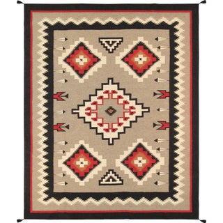 "Pasargad Navajo Style Hand-Woven Area Rug - 7'10"" X 10' 1"""
