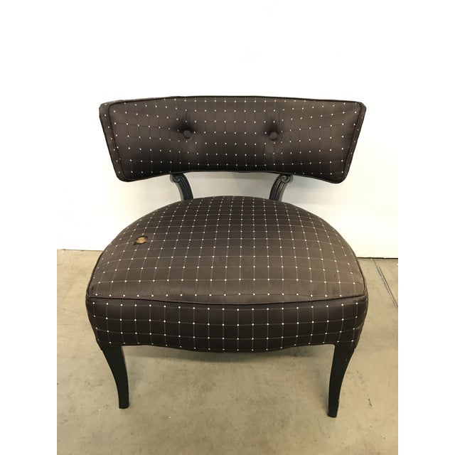 Billy Haines Style Slipper Chair - Image 3 of 10