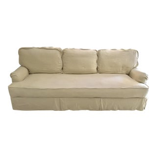 Restoration Hardware English Roll Arm Slipcovered Sofa