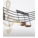 Image of Curtis Jere Musical Note Wall Sculpture