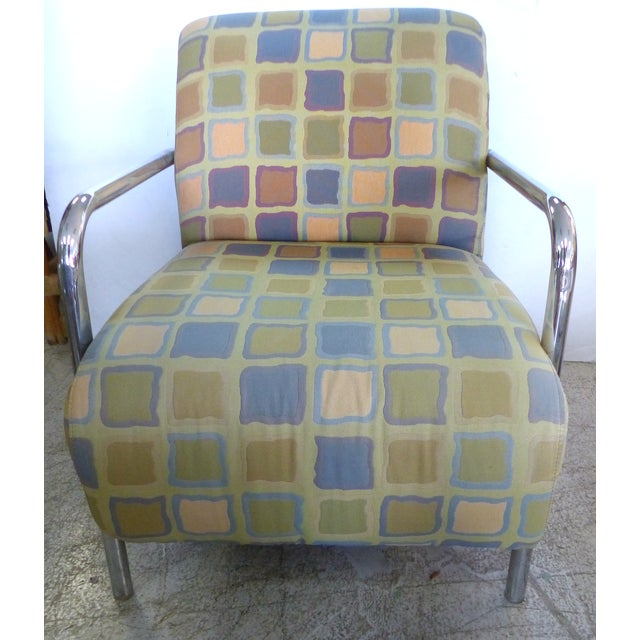 Kem Webber-Style Lounge Chairs - A Pair - Image 3 of 11