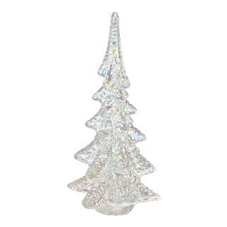 Iridescent Pearl Art Glass Tree