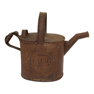 Antique Mercantile Watering Can