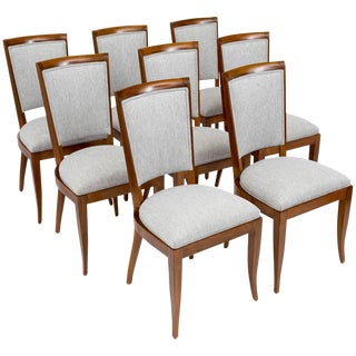 Dominique Art Deco Period Dining Chairs- Set of 8