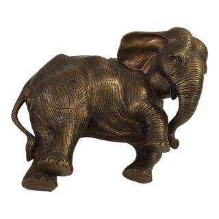 Antique Brass Elephant