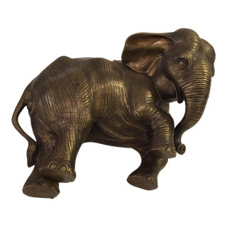 Antique Brass Elephant