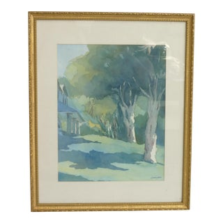 2001 Cicely Perrotte Watercolor Painting