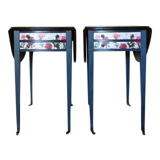 Mid-Century Modern Accent Tables - A Pair
