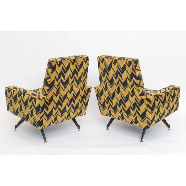 Original Pair of Lounge Chairs by Osvaldo Borsani - Image 6 of 6