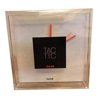 Kartell Tac & Tic Clock