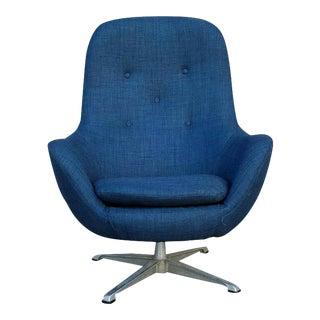 Overman Vintage Swivel Lounge Chair