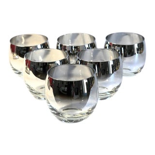 Mid-Century Roly Poly Glasses - Set of 6