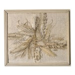 Image of Modernist Abstract Fiber Art Wall Hanging