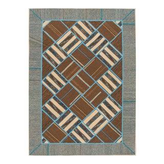 """Apadana - Persian Flat-weave, 5'6"""" x 7'9"""""""