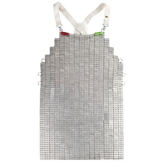 Vintage French Chainmail Butcher's Apron