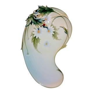 Franz Porcelain Daisy Tray