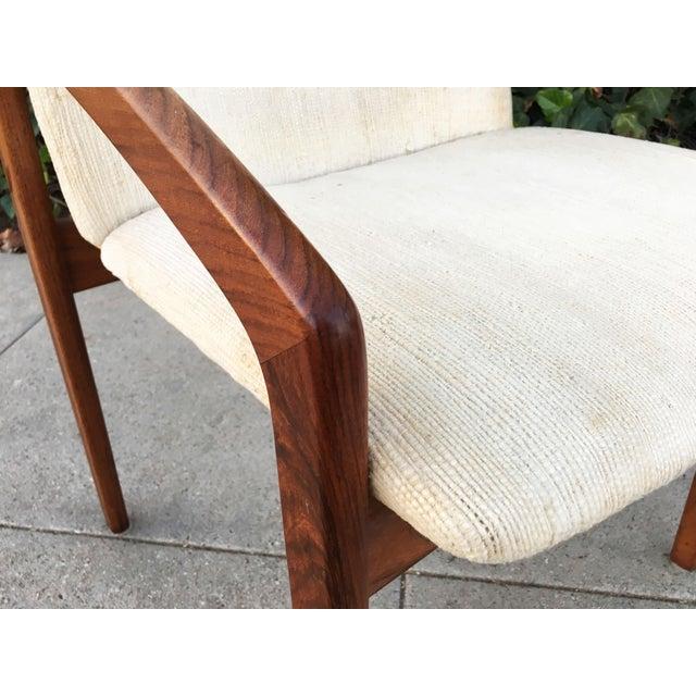 Kai Kristiansen for Korup Stolefabrik Mid-Century Modern Carver Rosewood Dining Chairs - Set of 6 - Image 6 of 7