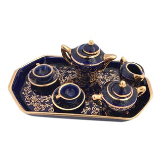 Miniature Limoges Tea Set