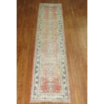 Image of Distressed Turkish Oushak Runner Rug - 2'5'' x 10'9''