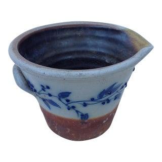 Rustic Boho Textural Pottery Vessel