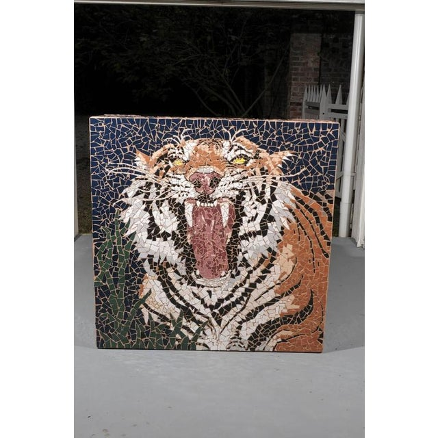 Mosaic Tiger Coffee Table - Image 3 of 7