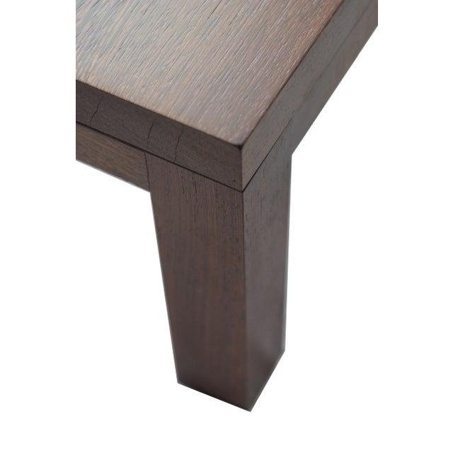 Spencer Fung Custom Wenge Wood Coffee Table - Image 5 of 9