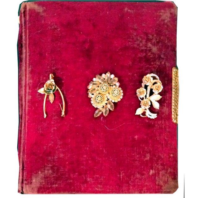 Antique Nouveau Photo Albums - Set of 5 - Image 3 of 10