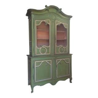 Antique English Display Cabinet