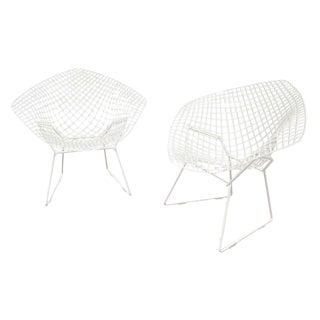 Knoll Mid-Century Diamond Chairs by Bertoia - Pair