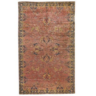 Antique Oversize Indian Carpet