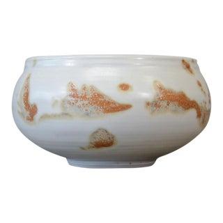 Vivika and Otto Heino White Glazed Bowl
