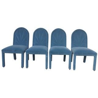 Casa Bique Velvet Chairs - Set of 8