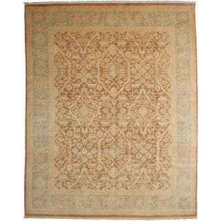 """Hand Knotted Oushak Area Rug - 8'0"""" X 9'10"""""""