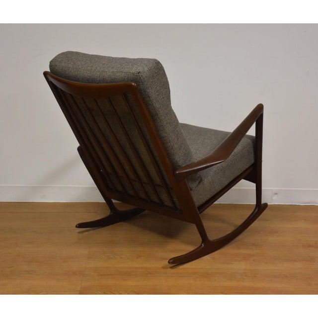 Ib Kofod Larsen for Selig Rocking Chair - Image 3 of 11