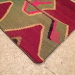 Image of Vintage Maroon & Green Kilim Pillow