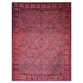 Vintage Moroccan Berber Rug - 6′ × 7′8″