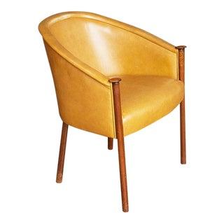 Ward Bennett Leather Armchair