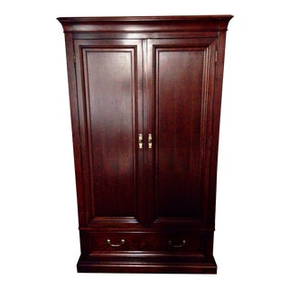 Ethan Allen Cherry Wood Armoire